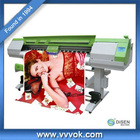 Double 4 color 1.8M uv digital inkjet label printer