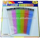24Pcs Plastic Brush Set