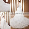 CONIEFOX Customized high quality bridal dress trailer