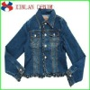 2012 new fashion jean men denim jean coat