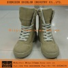 Military Khaki Combat Ankle Boots