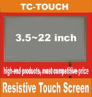 3.5~22 inch Resistive touch panel / touch screen