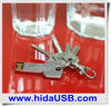 Key shape USB flash Free logo printing USB flash drive