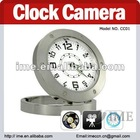 The Smallest Table Clock Camera with Motion Detection (DVR 640x480 AVI 30FPS)