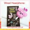 Newly & Fashion Wired Headband Headset, cute headphone
