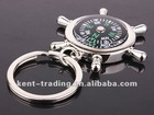 Zinc Alloy Compass Key Chain Metal Rudder Key Chain Rudder Rotating Key Chain Zinc Alloy Sailor Key Chain and paypal is ok