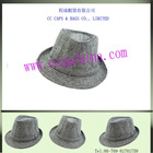 Faddism Black and White Patterned Hat ccap- fedora -2