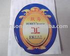 high quality soft epoxy sticker
