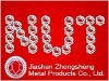 Zinc plated nut and bolt(M6)