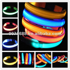 free shipping LED Dog leash LED Dog Collar Flashing LED Pet Collar