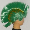 New Design Green spike Hair Wigs
