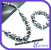 Newfashioned Wholesale Shamballa Crystal Beads 2012 Hot Jewelry Set