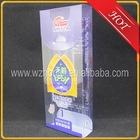 transparent plastic pvc packing box for 48g infant formula