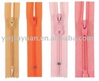 high quality nylon zipper