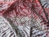 polyester cotton printing knitting fabric of ladies garment for summer