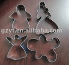 Christmas Cookie Cutter Set(Snowman)