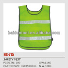 Yellow kid safety vest