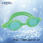Ultra seal one-piece silicone goggles with wide view