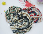 Hot simple and elegant zebra grain cotton scarf