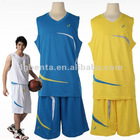 Low moq customized basketball clothing dry fit man basketball suit