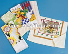 100% cotton velour kitchen towel with high quality
