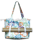 Printing Shoulder Bag With Straw Sleeping Mat-12-TB-028-01