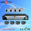 H.264 4CH DIY CCTV Camera DVR KITS With 600TVL Cameras