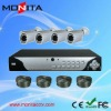 H.264 4CH DIY CCTV Camera DVR KITS With 600TVL Cameras