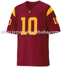 USC Trojans Jerseys #10 Cushing Authentic Red Jersey Mixed Order Size 48-56 Free Shipping