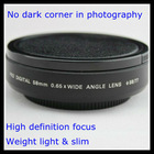 58mm 0.65x super wide angle lens for Canon 58mm lens