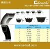 rubber parts,rubber belt,classical/plain v belt,cogged v belt,raw edge v bet,wrapped v belt