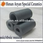 Refractory Silicon carbide (SSIC & RBSIC)ceramic sandblaster Nozzle