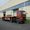Flat-bed container semi-trailer (Rear 3 axles)