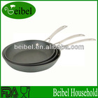 3pcs SET Hard anodized aluminum cookware fry pan set