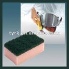 100% Polyester Sponge Scrubber