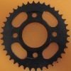 Motorcycle sprocket-electrophoresis black