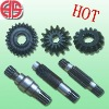 corn harvester gear and shaft