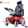 Mobility scooter with four wheel