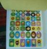 Paper sticker 001