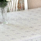 PVC lace table cover,vinyl table cloth - Helen Li