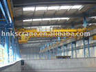 Double girder overhead traveling bridge crane