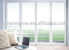 PVC casement window hot sales,triple glazing window
