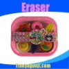 2012 novel fashion food eraser