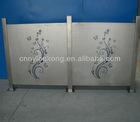 Engraved aluminum alloy sheet, aluminium carving and aluminium pannel