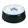 Rotary crystal LED light base
