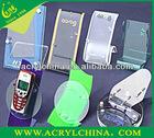 acrylic mobile phone display racks or acrylic phone holder