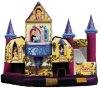 Beautiful inflatable princess castle palace
