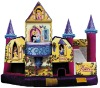 Beautiful inflatable princess castle palace