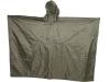 military PU rain cape