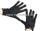 Multi-Points Capacitive Touch Screen Gloves (Black)